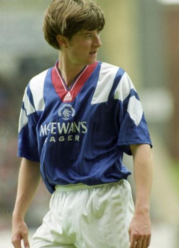 Former Rangers winger Pieter Huistra