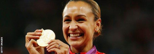 Jessica Ennis Olympic gold medal