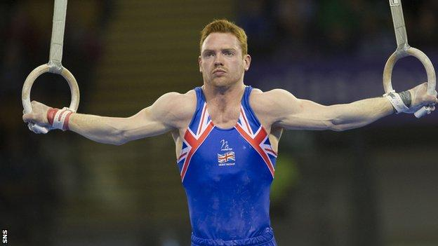 Scottish gymnast Daniel Purvis is going for gold at the Commonwealth Games.
