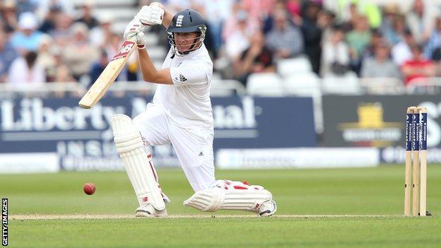 England cricketer Gary Ballance