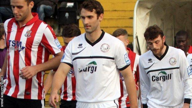 Hereford skipper Luke Graham