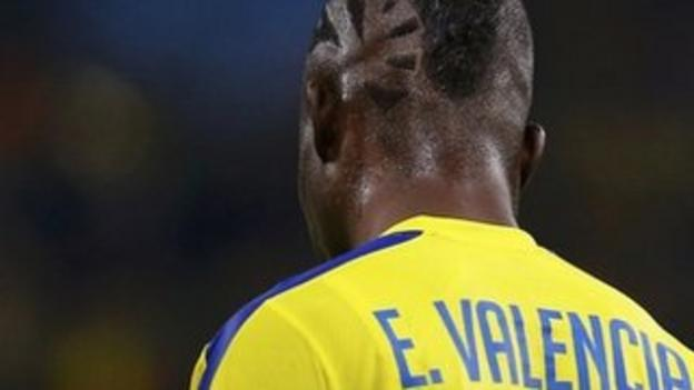 Enner Valencia of Ecuador