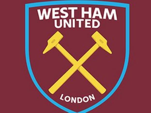 West Ham's new crest