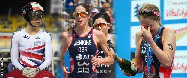 Becky James, Helen Jenkins and Non Stanford