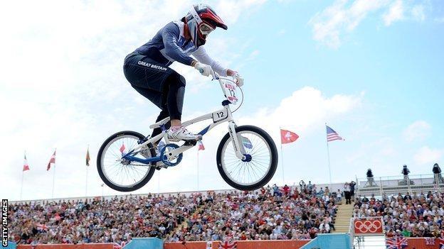 British BMX rider Shanaze Reade