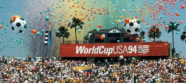 World Cup 1994 hosted by USA