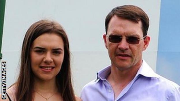 Ana O'Brien and Aidan O'Brien