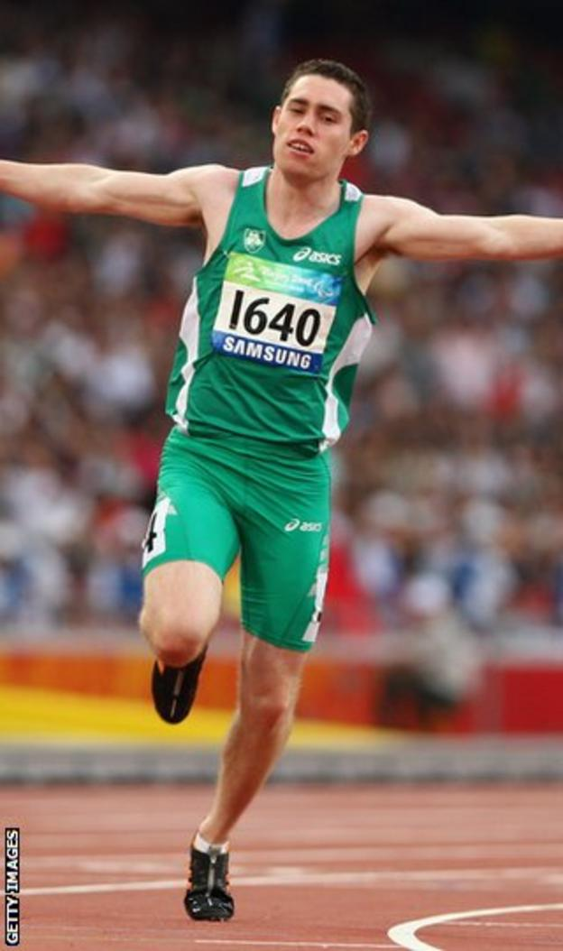 Jason Smyth will compete against able-bodied athletes in Glasgow