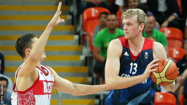 Dan Clark top-scored for GB with 19 points
