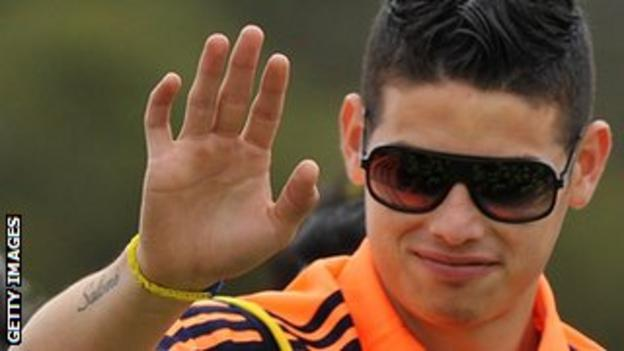 Colombia playmaker James Rodriguez