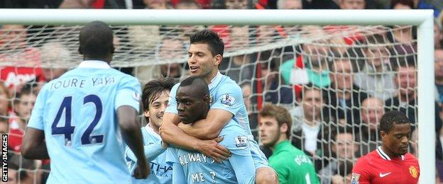 Former Manchester City striker Mario Balotelli
