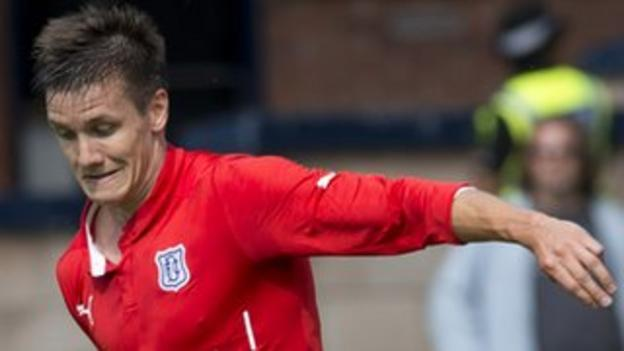 Dundee defender Thomas Konrad