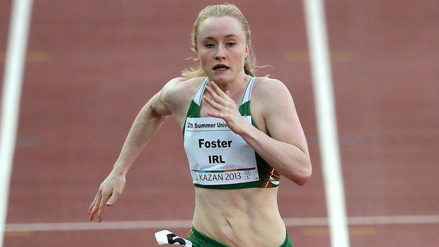 Ckity of Lisburn athlete Amy Foster