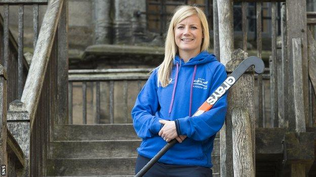 Scotland hockey team's vice captain Catriona Ralph
