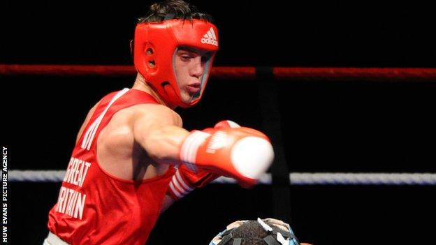 Welsh welterweight Fred Evans won Olympic silver for Great Britain at London 2012