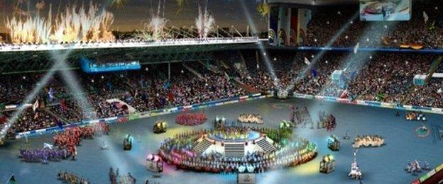 The Queen's Baton Relay will play a key role in the Opening Ceremony of the Commonwealth Games