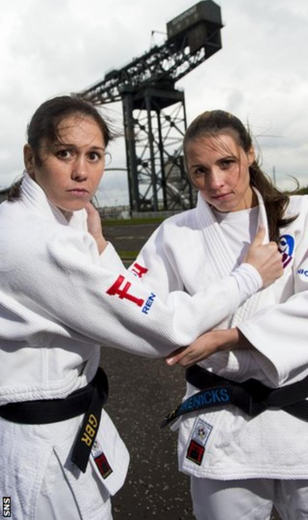 Louise and Kimberley Renicks are looking to throw their way to medals in judo