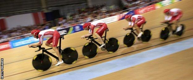 England cycling team