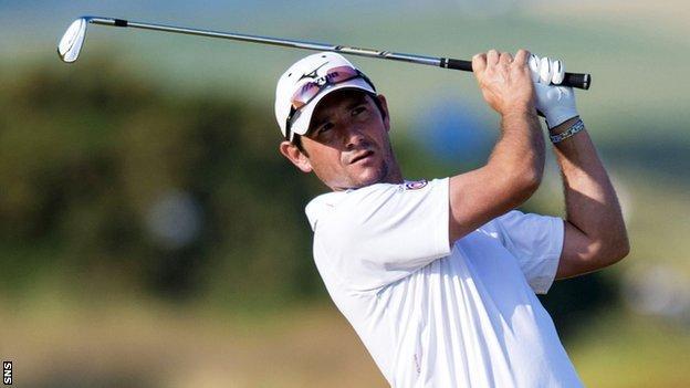 Scottish golfer Peter Whiteford