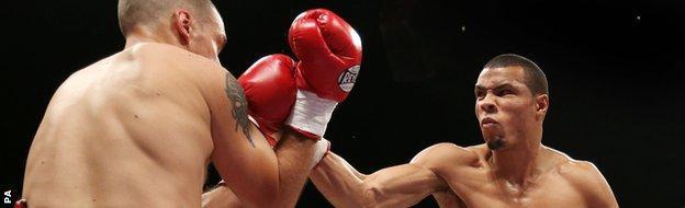 Chris Eubank Jr beats Ivan Jukic