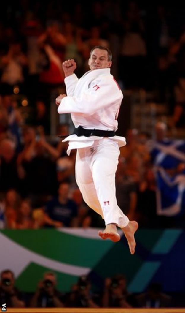 Burton jumps for joy