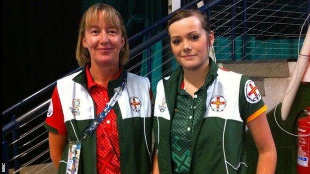 Dawn Morgan (left) and Alice Loveridge