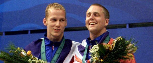 Sascha Kindred and Matt Walker
