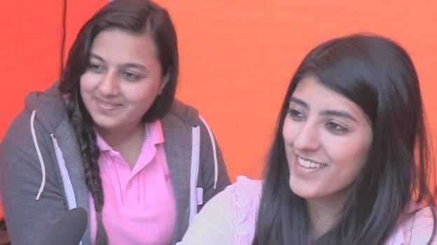 Zunera Mahmood and Aneesa Anwar