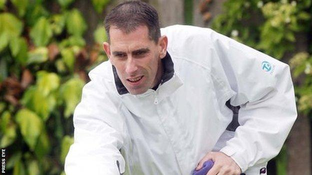 Martin McHugh's only previous Commonwealth Games medal was his fours gold in 1998