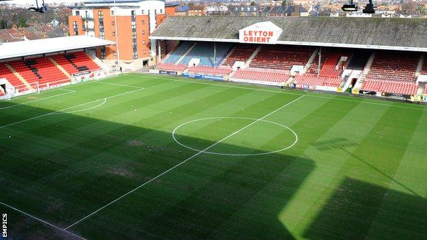 Leyton Orient's Matchroom Stadium