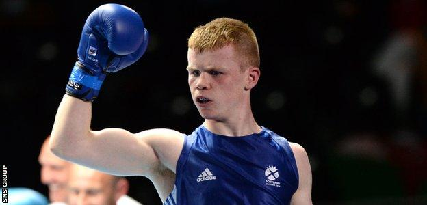 Charlie Flynn is going for gold on Saturday, along with Josh Taylor