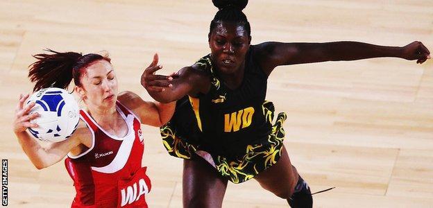 Jade Clarke (left) and Vangelee Williams