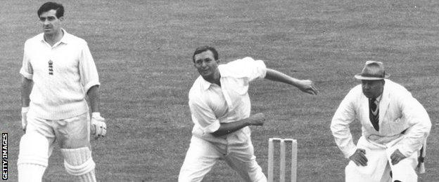 Richie Benaud took 248 Test wickets at an average of 27.03