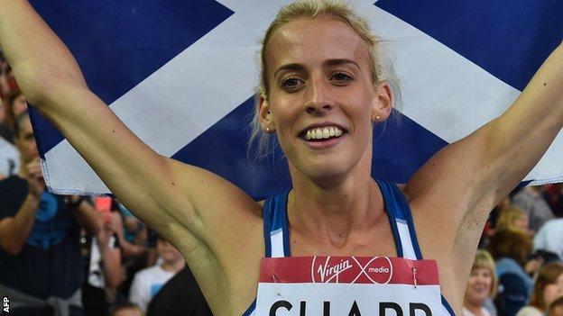 Athlete Lynsey Sharp