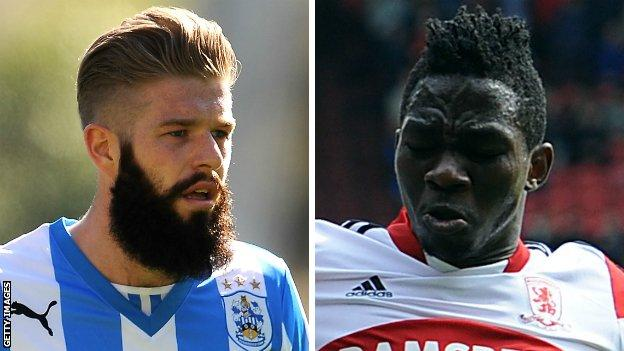 Adam Clayton and Kenneth Omeruo