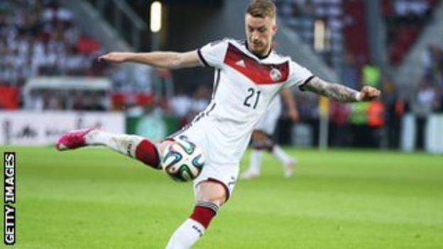 Germany's Borussia Dortmund striker Marco Reus