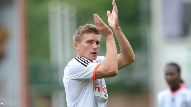Fulham defender Shaun Hutchinson