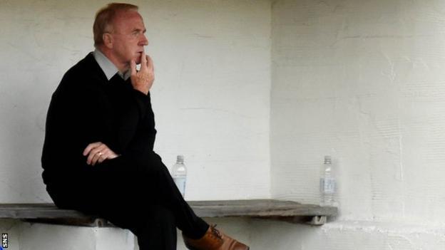 St Mirren manager Tommy Craig