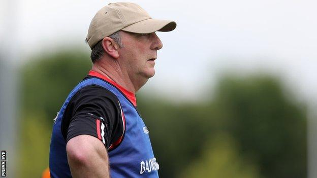 Ger Rogan watches last month's Ulster Final