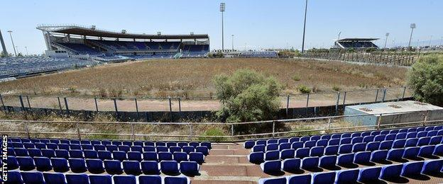 The Olympic softball stadium in Athens