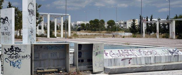 The Olympic village in Athens