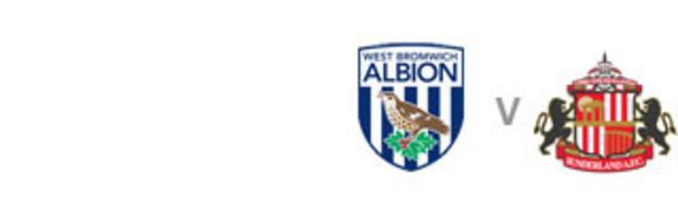 West Brom v Sunderland