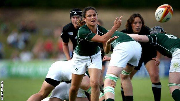 Ireland's Tania Rosser