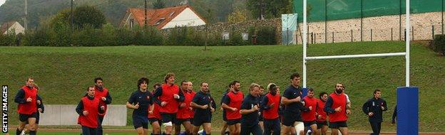 National Rugby Centre, Marcoussis