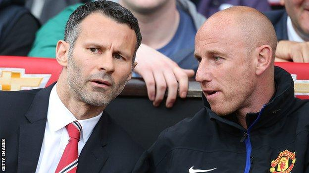 Nicky Butt (right) and Ryan Giggs