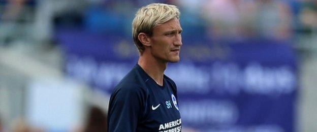 Brighton manager Sami Hyypia