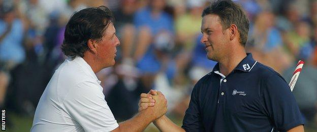 Phil Mickelson and Bernd Wiesberger
