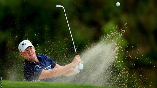 Jamie Donaldson posts a first-round 69 at the US PGA at Valhalla
