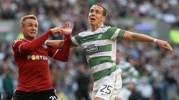 Legia beat Celtic at Murrayfield