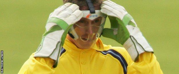 Former Yorkshire wicketkeeper Simon Guy